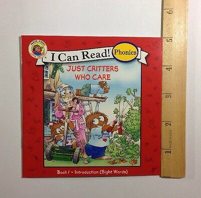 Little Critter Childrens Phonics I Can Read Books Early Readers Lot 12 2