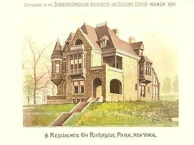 Scientific American Architects and Builders Edition- Riverside Park, N. Y.-1891 2