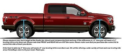 """StreetRays 2004-2019 Ford F150 1/"""" Front Leveling Lift Kit 4WD 2WD Strut Spacer"""