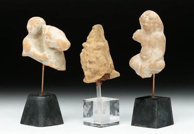 Lot of 3 Romano-Egyptian Terracotta Votives Lot 13