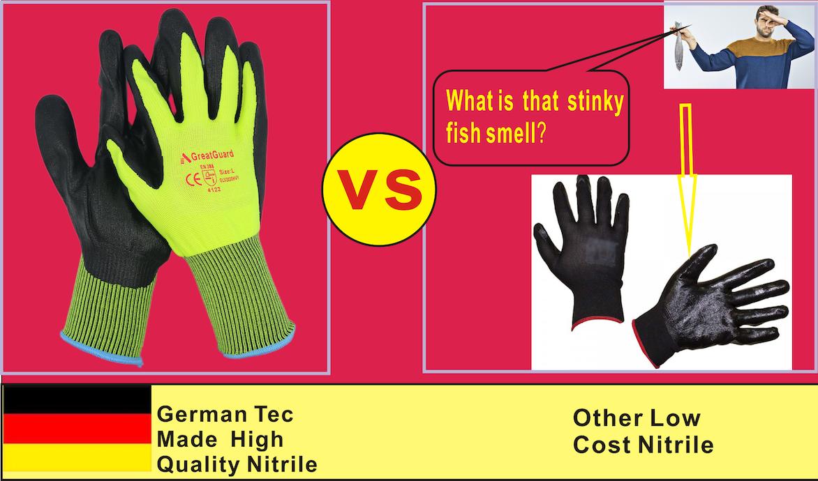 Work Gloves Foam Nitrile Coated Safety General Purpose Garden 12 Pairs 4
