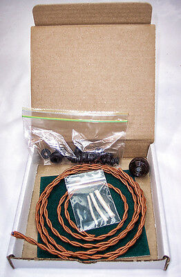 Antique Fan Restoration Kit - Vintage rewire - GE Emerson Dayton Westinghouse 3