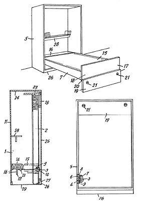 schrankbett selbst bauen wandbett zusammenklappbares bett. Black Bedroom Furniture Sets. Home Design Ideas