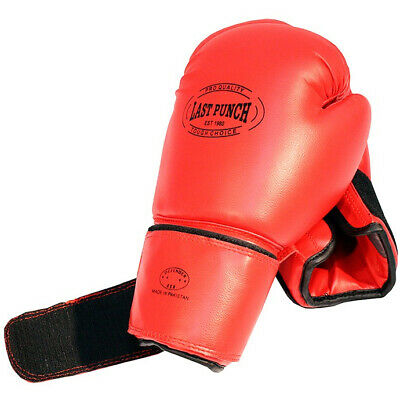 2 PAIRS 16 OZ BOXING TRAINING PRACTICE GLOVES w/ HEAD GEAR PROTECTION RED BLACK 3