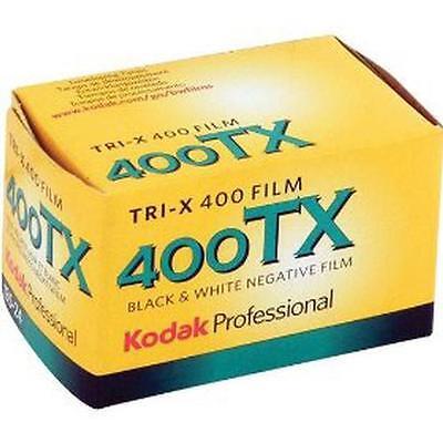 5 Rolls Kodak Tri-X 400 TX 135-24 Pan Black and White ISO 400 35mm Film 2