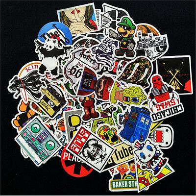 10pcs Fashion Sticker Bomb Decal Vinyl Roll Car Skate Skateboard Laptop !