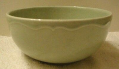"""2pc Varages Luberon Pale Green Cereal Soup Salad Bowls 6-1/4"""" made in FRANCE 2"""
