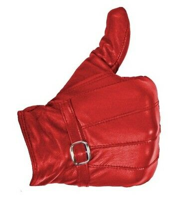 Ladies Leather Gloves Women Real Soft Fleece Lined Winter Casual Driving Warm 2