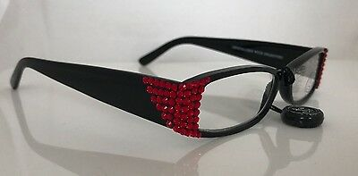 068406b936d ... Jimmy Crystal Light Siam Swarovski Crystal Reading Glasses