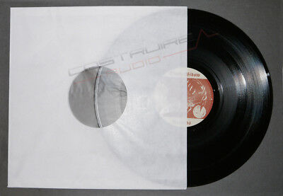 50 Pezzi - BUSTE INTERNE LP IN CARTA + VELINA PROTEZIONE inner TOP quality dj 2