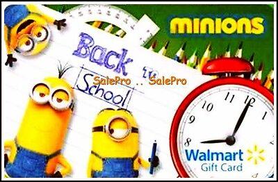 4x WALMART 2015 UNIVERSAL STUDIO MINIONS BACK 2 SCHOOL COLLECTIBLE ...