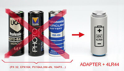 ADAPTER + BATTERY + KIT: for Yashica Electro 35, GL, G, GS, GSN,GTN,GT, MG1, AX 3