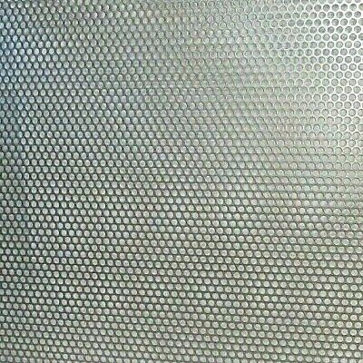 """==1/4"""" Hole 16 Ga.--(.0598)- 304  S.s. Perforated Sheet-- 11"""" X 12""""== 5"""