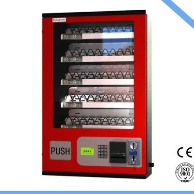 5 Slot Cigarette Candy Food Chips Bathroom Wall Coin Acceptor Vending Machine 2