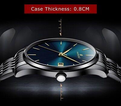 Men's Waterproof Military Sport Date Analog Quartz Wrist Watch Business Watches 9