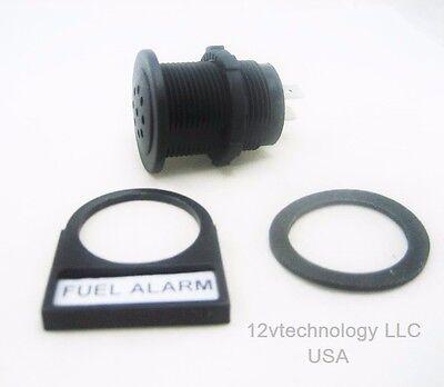 Warning Alarm w// LED Loud Piezoelectric Tone Signal  12V Fits Mallory Sonalert