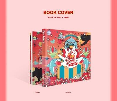ROCKET PUNCH 2nd Mini Album [RED PUNCH] CD+Booklet+Bookmark+Sticker+Photocard 5