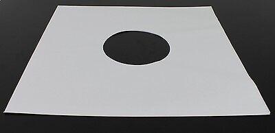 "McDAISON 150pz BUSTA INTERNA BIANCA con fori x DISCHI LP 33 giri 12"" mix vinile 2"