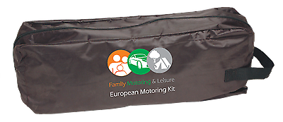 10 Piece European Travel Kit Legal Recommended Euro Items Driving in France 9