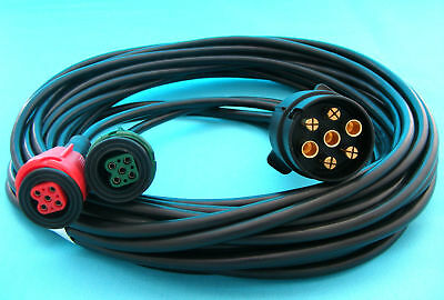 8 metre Pre-wired Harness Wiring Loom for Radex Plug In Trailer Lamp 2900 6800 2