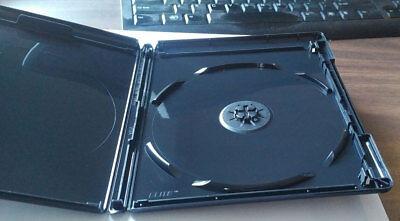 NEW 5 Premium VIVA ELITE Triple Disc 4K Ultra HD Black Blu-ray Cases
