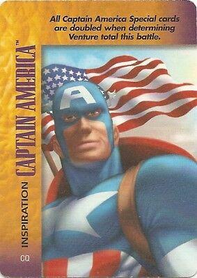 x5 Superpatriot Classic hero Marvel OVERPOWER Captain America