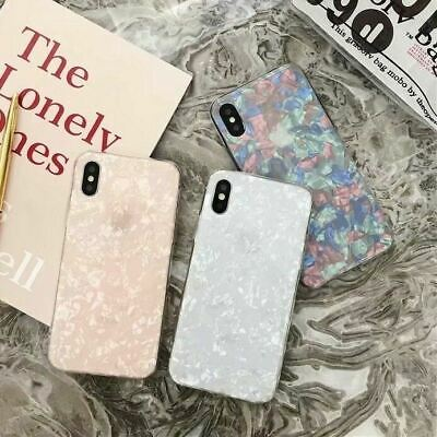 Case for iPhone XR XS MAX 8 7 6 6S Plus ShockProof Marble Phone Cover Silicone 4