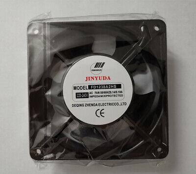 38 0.10A 120 For 1pcs Cooling Fan FD1238A2HS AC220-240V 0.14 120