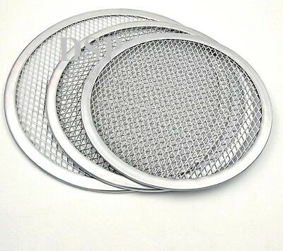 "5"" to 24"" Inch Aluminium Mesh Pizza Screen Baking Tray  Wire Mesh Food Crisper 2"