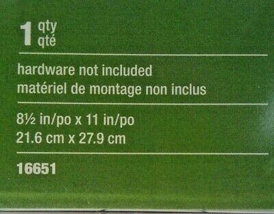 """2 Wall Mount Sign Holders 8.5"""" x 11"""" Staples Model 16651 2"""