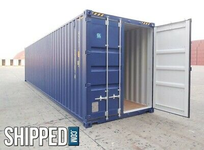 Pensacola Storage! 40' High Cube Shipping Container In Florida! 2