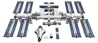 LEGO Ideas Internationale Raumstation 21321 Satelliten NASA Mini-Spaceshuttle 3