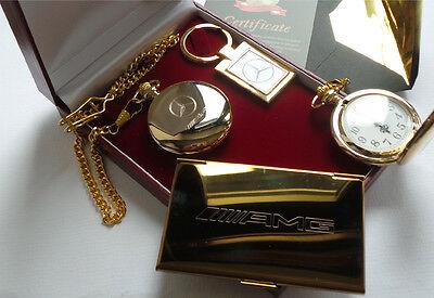 GOLD Plated AMBULANCE POCKET WATCH Paramedic St Johns Driver Gift Case 6