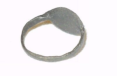 ~ Ancient Roman Empire Bronze Ring Circa 1St - 3Rd Century A.d. ~ Collectible ~ 3