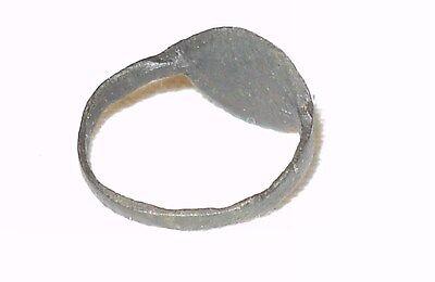 ~ Antique Roman Empire Bronze Ring Circa 1St - 3Rd Century A.d. ~ Collectible ~