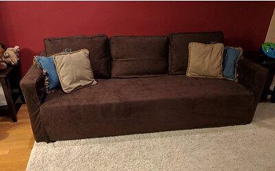 Excellent Custom Made Cover Fits Ikea Friheten Sofa Bed Three Seat Ibusinesslaw Wood Chair Design Ideas Ibusinesslaworg