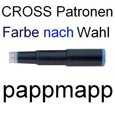 12 CROSS Tintenpatronen - Farbe nach Wahl - Füller-Patronen blau, schwarz, etc. 2