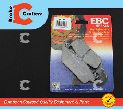 2016-2017 INDIAN CHIEF DARK HORSE REAR EBC HH RATED SINTERED BRAKE PADS