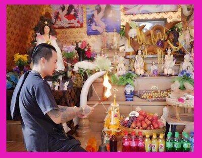 Thai Amulet Charming Fox Lady Men surrounded Opposite sex Love Aj O Chakungrao