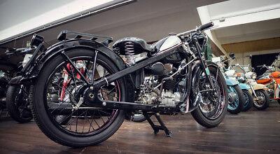 Puch 200 Oldtimer Motorrad 1939 Original Österreichischer Kraftfahrzeugbrief 3