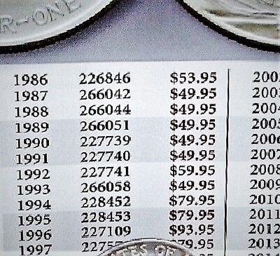 1996 Key Date Silver American Eagle BU 1 oz. Coin US $1 Dollar Uncirculated Mint 5