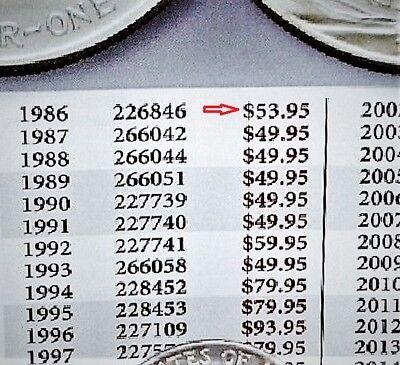 1991 1 oz Silver American Eagle BU Coin .999 fine US $1 Dollar Uncirculated Mint 3