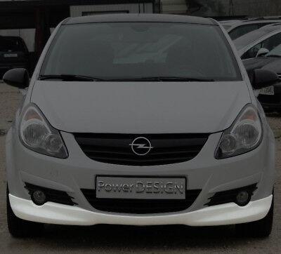 "OPEL CORSA D 06-10 ABS Plastic  /' OPC look /"" Rear bumper spoiler for VAUXHALL"