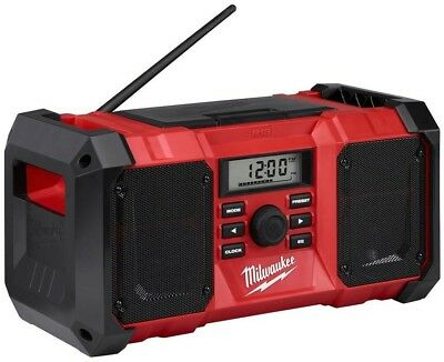 Milwaukee Cordless Jobsite Radio M18 Lithium-Ion Digital AM FM Tuner Audio New 3