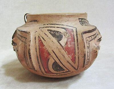 Pre-Columbian CASAS GRANDES POLYCHROME HUMAN EFFIGY VESSEL, ca. A.D. 1160-1260 4
