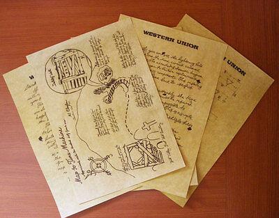 Ritorno Al Futuro 3 - Lettera Di Doc Dal West Nel 1885 A Marty Nel 1955, Replica 2