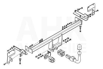 Für Suzuki Swift IV FZ//NZ auch Sport 10-17 Anhängerkupplung abnehmbar+ESatz 7p