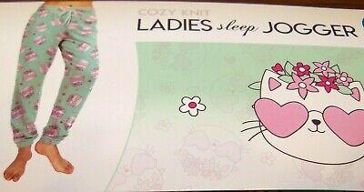 Kitten Kitty PJ Sleep Lounge Pajama Knit Pants Womens Size 0 - 2 XS XSmall NEW 2