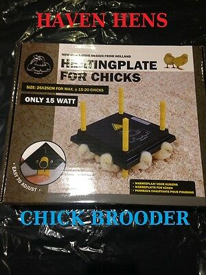 CHICKTEC COMFORT 25 CHICK BROODER Electric Hen Heat Lamp Poultry Chickens Heater 2