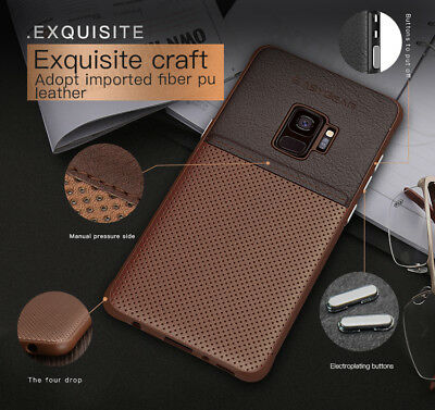 Fits Samsung Galaxy Luxury Leather Ultra-Thin Slim Hard Protective Case Cover 6